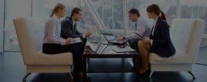 Cowokrers in meeting | TeleMed Inc.