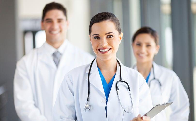 Smiling doctors | TeleMed Inc.