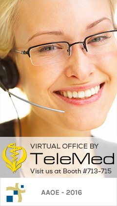 Virtual Office by TeleMed | Visit us at Booth #713-715 | AAOE - 2016