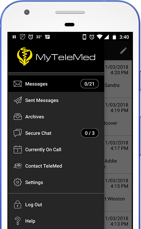 My TeleMed Android App Medical Answering Service | TeleMed Inc.