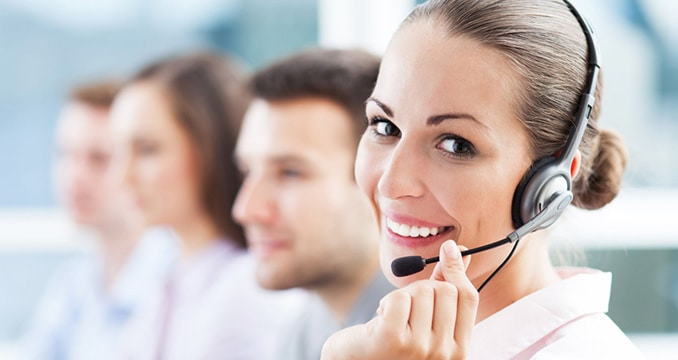 Women on Headset for Medical Answering Service   TeleMed Inc.