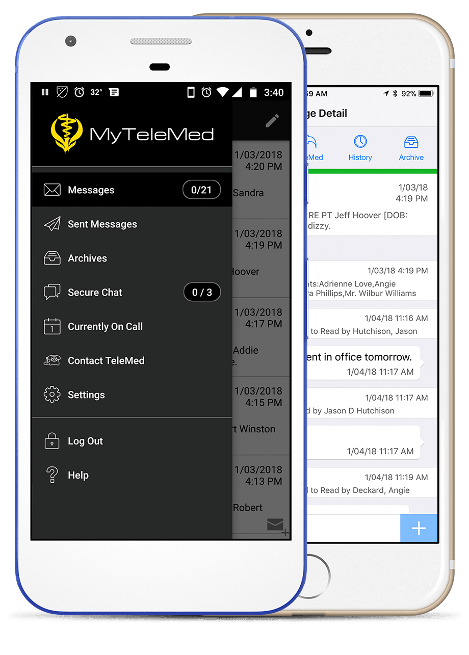 The MyTeleMed App for Apple and Android devices | TeleMed Inc.